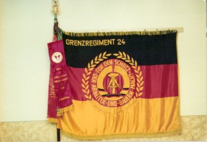 """Fahne """"meines"""" Grenzregimentes"""