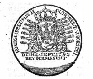 Regimentssiegel 1804