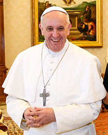 Papst Franziskus März 2013 (Quelle: Wikipedia.de)