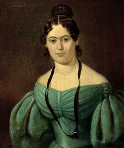 Jenny Marx um 1835, Maler unbekannt (Quelle: wikipedia.de)