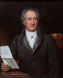 Goethe 1828, Ölgemälde von Joseph Karl Stieler