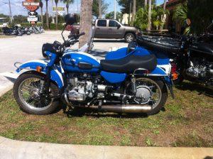 In einem Harley-Shop in Miami