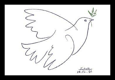 Picassos Friedenstaube (1961)